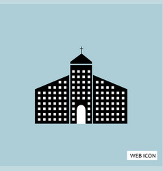 church icon church icon eps10 church icon church vector image