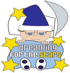 Dreaming For The Stars vector