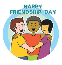 Friendship day vector