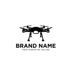 Logo drone template vector