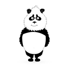 Panda Cute Panda Cartoon vector image