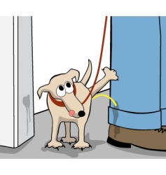 rebel dog vector image