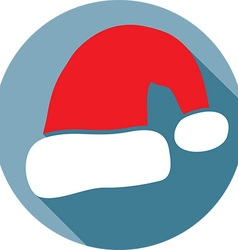 Santa Hat Icon vector
