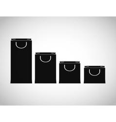 Shopping design Shopping bag icon sale concept vector image