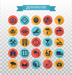 Web icons set - construction and home repair tools vector