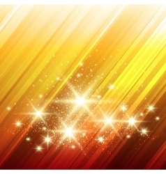 Glowing Stars Background vector image