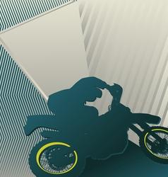 motocross sport background vector image