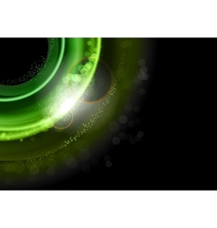 background green dark vector image vector image