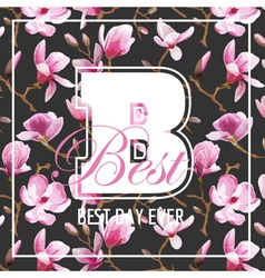 Shabby chic flowers graphic design - for t-shirt vector