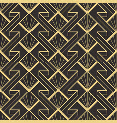 Abstract art deco modern geometric tiles pattern vector
