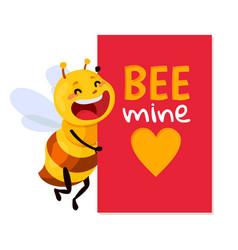 bee be my honey vector image