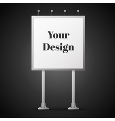 Billboard vector image