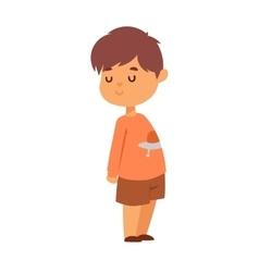 Boy portrait vector