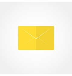 closed envelope icon vector image