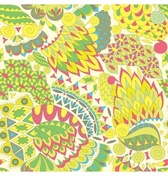 Decorative Background for Fabric vector image