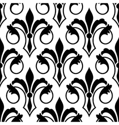Fleur de Lys seamless bakground pattern vector
