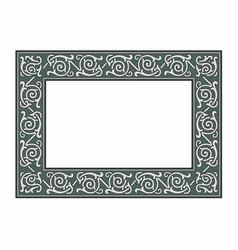 Gray frame vector