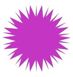 Microbe Spore Icon vector