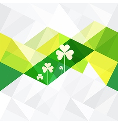 Patrick day background vector