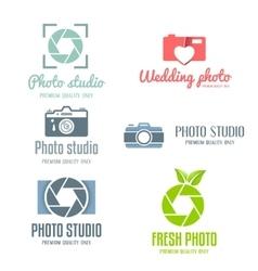 Set of vintage and modern logo icon emblem vector