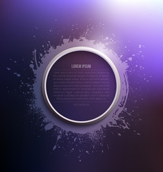 Abstract modern grunge background vector image