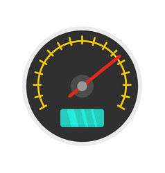 city car dashboard icon flat style vector image