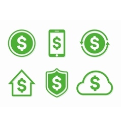 dollar logo Dollar icon dollar vector image