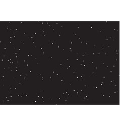 huge clusters of stars in the dark sky black vector image