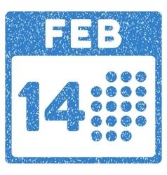 Romantic Valentine Day Grainy Texture Icon vector