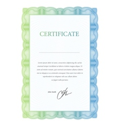 Template certificate diplomas and currency vector