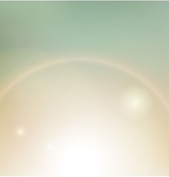 Vintage background sunbeam vector image
