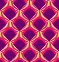 peacock patternjapan wave pattern vector image