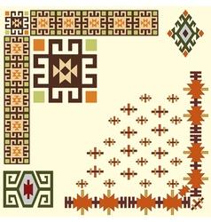 design element vintage vector image