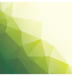 geometric background with triangles and dots vector image vector image