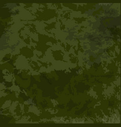 green camouflage khaki texture vector image