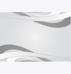 background with white and gray lines abstract vector image