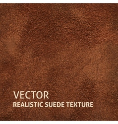 Brown suede background vector