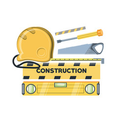 construction equipment design vector image
