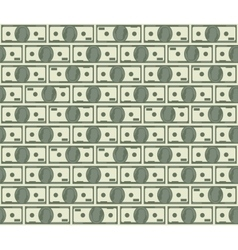 dollars seamless pattern vector image