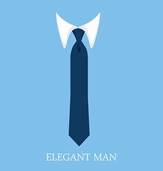Elegant man vector