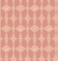 floral ornamental pattern geometric flourish vector image