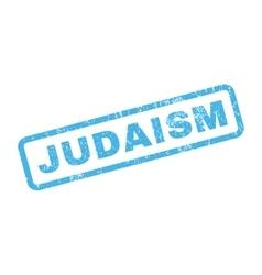 Judaism Rubber Stamp vector