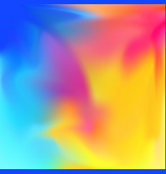 unusual bright colors abstract fantasy background vector image