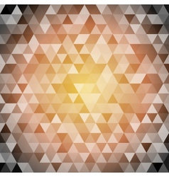 Seamless abstract hexagon background vector image vector image