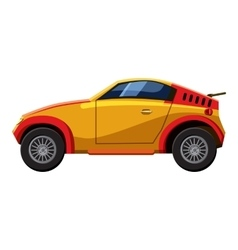 Sport car icon isometric 3d style vector image vector image