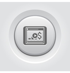 Video Lessons Icon Business Concept vector image vector image