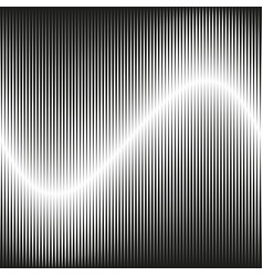 background with speed line vector image