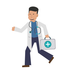Doctor or physician icon image vector