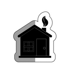 Home ecology isolated icon vector