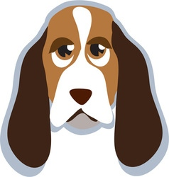Hound Head vector